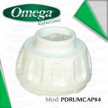 Refacción Omega Tapa De Tambor Color Blanco