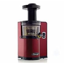 Extractor Jugo Omega Vert Slow Juicer Vsj843qr Red