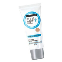 Maybelline Pure Makeup + Anti-imperfecciones Crema Claro
