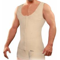 Chaleco Faja Reductora Corrector Postura Hombre