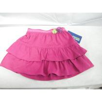 Falda Niña Rosa Genuine Kids By Oshkosh $230.00 Ndd