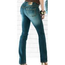 Jeans Levanta Pompis Magic Modelador Stretch Tallas Extra