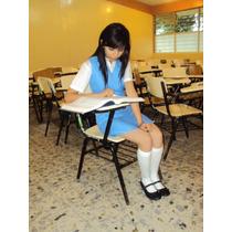 Jumper Uniforme Escolar Secundaria Federal Azul 2do Grado