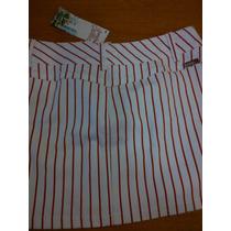 Remato Minifalda Bershka Chica Blanca/rojo