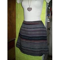 Minifalda Etnica De Moda