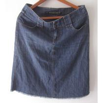 Dkny Jeans * Falda Mezclilla Dama Talla 8 - Hong Kong/usada
