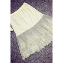 Suku 40460 Elegante Falda Encaje Moda Japón $479