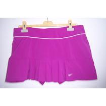 Falda Nike Para Dama Run T- L Morada Para Ejercicio