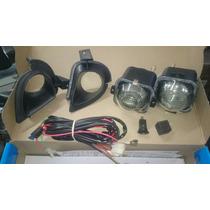 Kit Faros Niebla Auxiliar Chevy C1 Con Lupas Y Biceles Cable