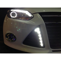 Super Kit Faros Led Kit D Tiras Led,luz Tipo Audi