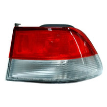 Calavera Honda Civic 1999-2000 2p Rojo/blanco Ext + Regalo