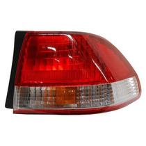 Calavera Honda Accord 2001-2002 4 Puertas Rojo/blanco Exter