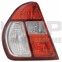 Calavera Nissan Platina 2007-2010 Izquierda Blanco/rojo
