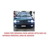 Par De Faros De Niebla Tipo Original Facia Ancha Jetta A2
