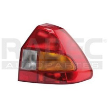 Calavera Ford Fiesta Izquierda 2001-2002-2003 Ambar/bco/rojo