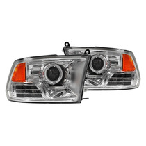 Faros Lupa Ojo Angel Dodge Ram 2009 2010 2011 2013 2014 2015