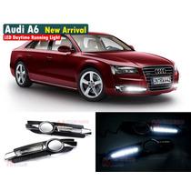 Audi A6 2005-2008 Drl Luz De Dia Biseles Led Faros Led