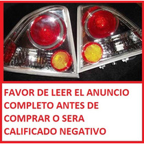 Calavera Para Civic Sedan 4 Puertas Deportiva Fondo Cromo