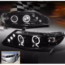 Honda Civic Sedan 2006 - 2011 Faros Delanteros Envio Gratis