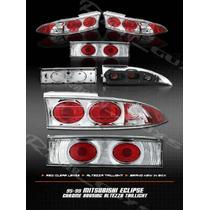 Calaveras Cromadas Mitsubishi Eclipse 95 96 97 98 99 Gst Gs