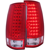 Cv Tahoe /suburban 07-up Led G4 T.l Red/clear