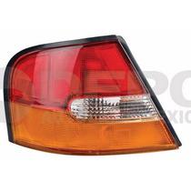 Calavera Nissan Altima 1998-1999 Izquierda Ambar/blanco/rojo