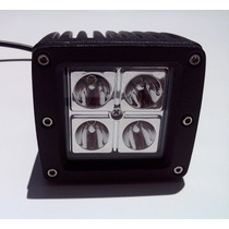Barras Faros Luz Led 16w Off Road 4x4 Duallys