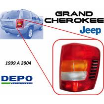 99-04 Jeep Grand Cherokee Calavera Trasera Lado Derecho Depo