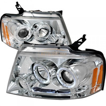 Par Faros Lupa Led Ojo D Angel Ford F150 Lobo 2004 2005 2006