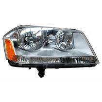 Faro Dodge Avenger 2008-2009-2010-2011-2012 Fondo Cromado