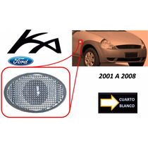 01-08 Ford Ka Cuarto Lateral Color Blanco Lado Derecho