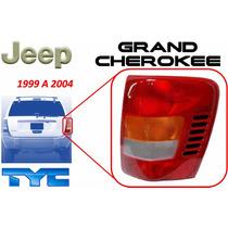 99-04 Jeep Grand Cherokee Calavera Trasera Lado Derecho Tyc