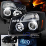 Faros Nissan Titan 2004 -2014,ojo Angel,lupa,leds,accesorios