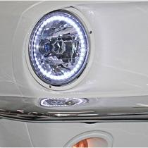 Par De Faros De Led Para Ford Mustang 1965 - 1973