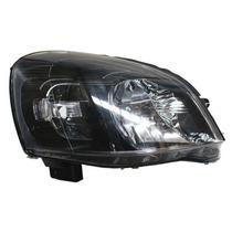 Faro Chevrolet Chevy C3 2009-2010-2011-2012 Fondo Negro