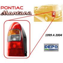 99-04 Pontiac Montana Calavera Trasera Lado Izquierdo Depo