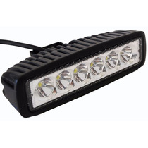 Barra Led 18w 6 Pulgadas Atv Utv Jeep Can-am 4x4 Off Road