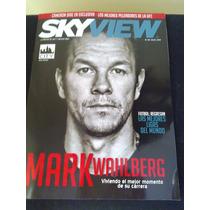Revista Sky View Mark Wahlberg Cameron Diaz Zoe Ufc Budapest