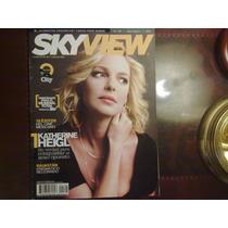 Revista Sky View Katherine Heigl , Barbara Mori , Travolta