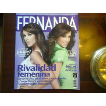 Jackie Bracamontes Lady Diana En Revista Fernanda 2009
