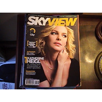 Revista Sky View Katherine Heigl , Barbara Mori, Travolta