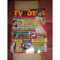 Revista Tv Notas Portada El Canelo Poster Gaby Ramirez
