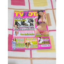 Revista Tv Notas Portada Roberto Sosa Poster Livia Brito