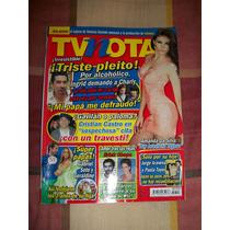 Revista Tv Notas Portada Cristian C Poster Amanda Da Silva