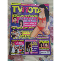 Revista Tv Notas Portada Pirru Poster Maribel Guardia