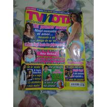 Revista Tv Notas Portada Sergi Goyri Poster Pilar Montenegro