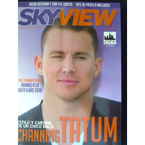 Revista Sky View Channing Tatum Dr Who Bruno Mars Cantinflas