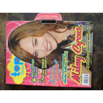 Revista Top Teen Con Portada Miley Cyrus De Coleccion