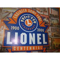 Trenes Lionel Centenario Anuncio Lamina 41x32cm Made In Usa
