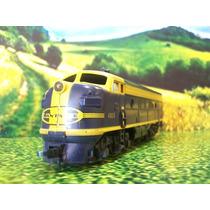 Mh03 Trenes Escala Ho Santa Fe 4015 Mantua Motorizada C/luz
